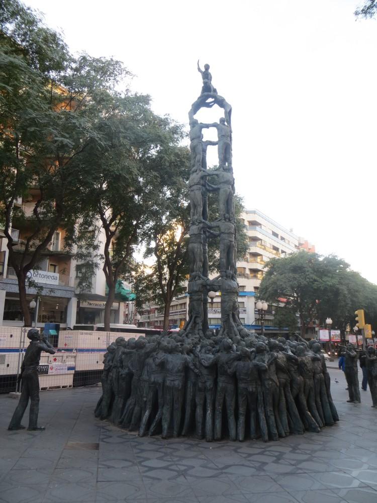 sculpture dans Tarragone