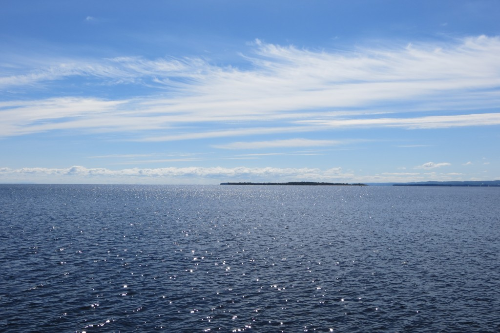 le Lac Saint-Jean vu de la marina de Roberval