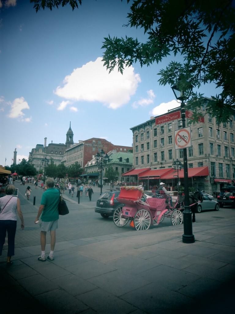 quartier historique de Montréal