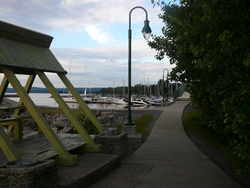 marina de Roberval - lac Saint-Jean (Québec)