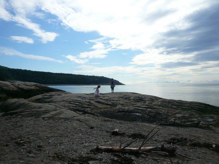 plage de Tadoussac