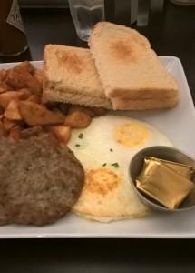 1er petit-dej américain à Seattle