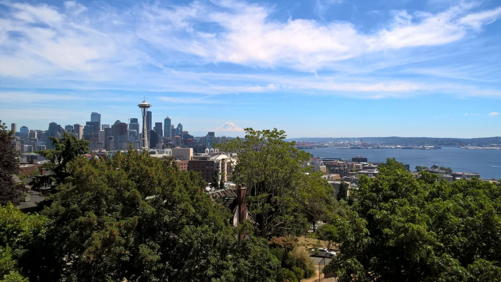 Seattle depuis Kerry Park