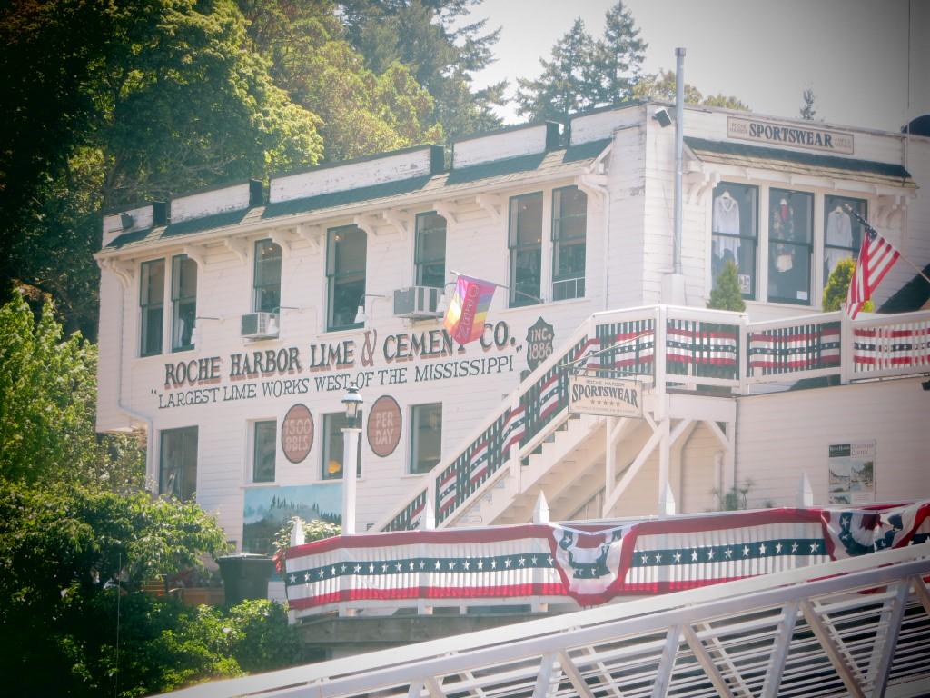 Hôtel à Roche Harbor sur San Juan Island