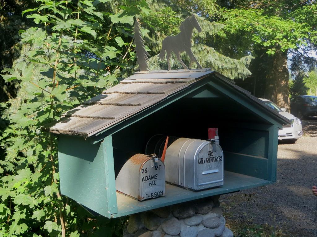 boites aux lettres à Trout Lake (état du washington)
