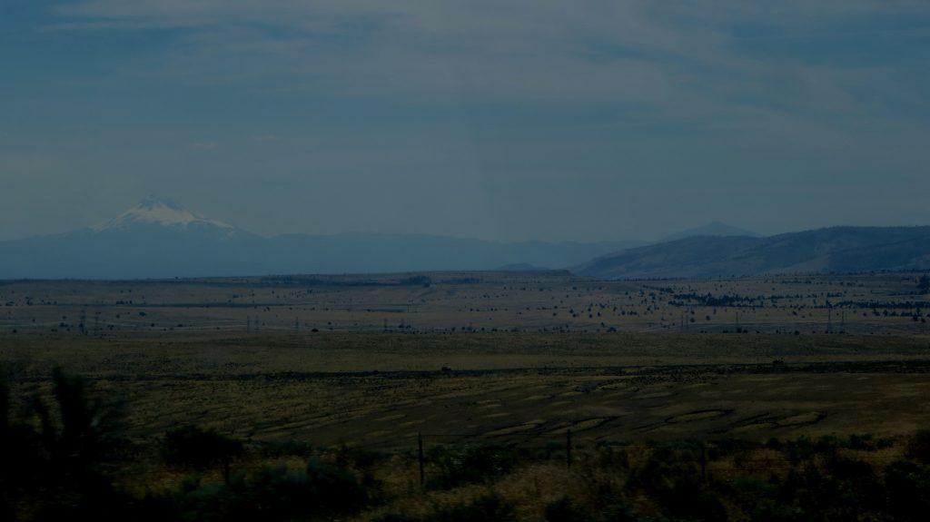 paysage haut désert de l'oregon