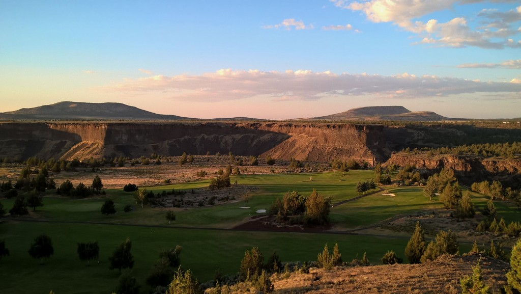 golf - canyon de la Crooked river - Oregon
