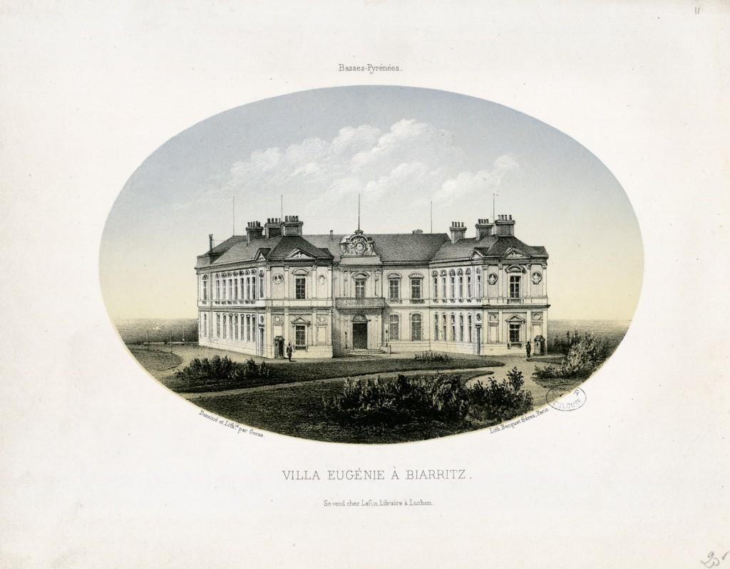 Villa Eugénie à Biarritz