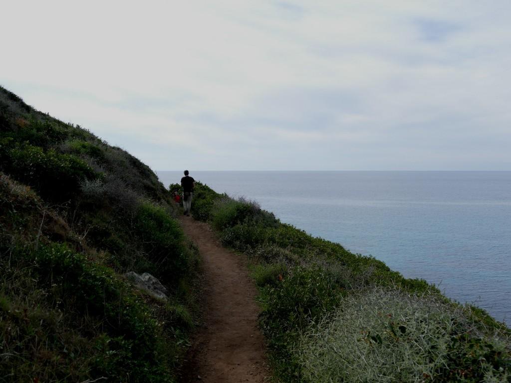 sentier de la pointe de la Parata - Ajaccio