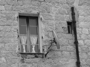 fenêtre à Sartène - Corse