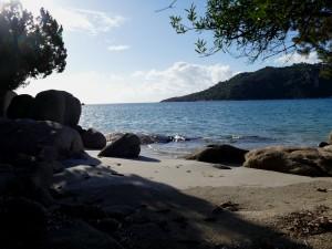 plage de Santa-Giulia - Corse