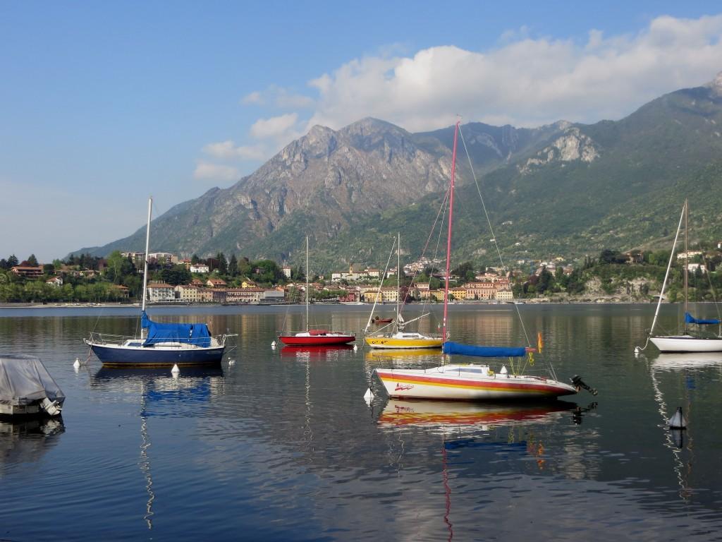Lac de Côme depuis Lecco
