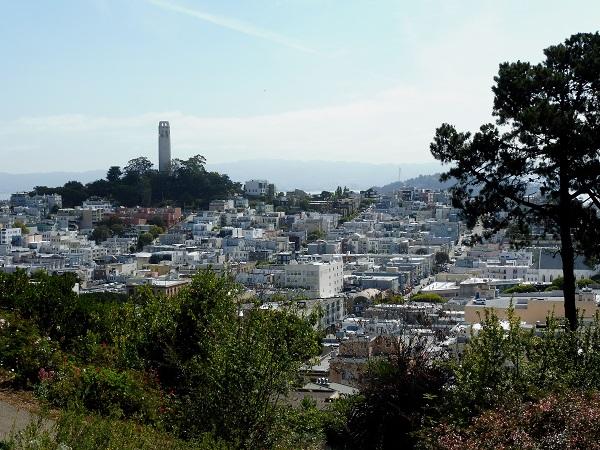 panorama sur San Francisco