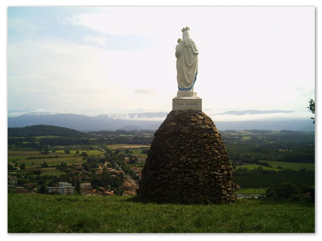 statue de la vierge de Saint-Martory