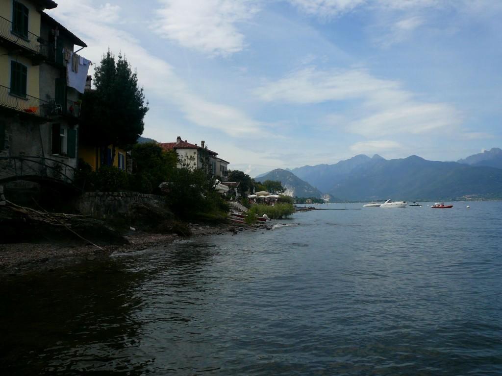 isola dei pescatori - lac majeur