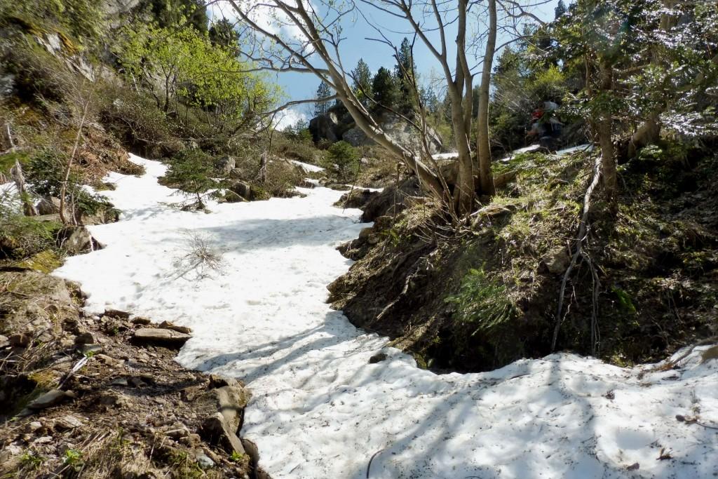 neige dans une vallée en Ariège