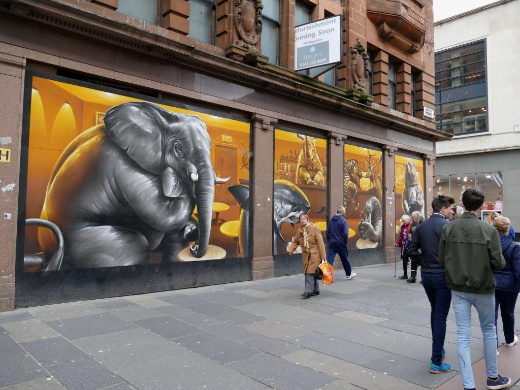street-art Glasgow