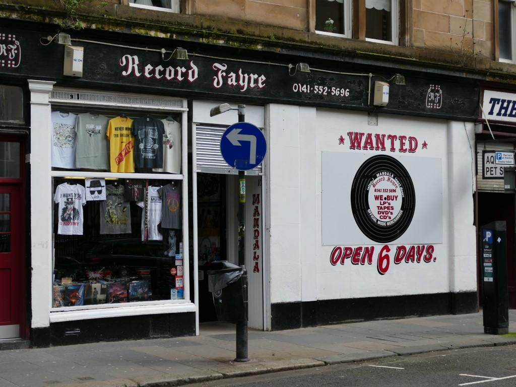 disquaire dans Glasgow