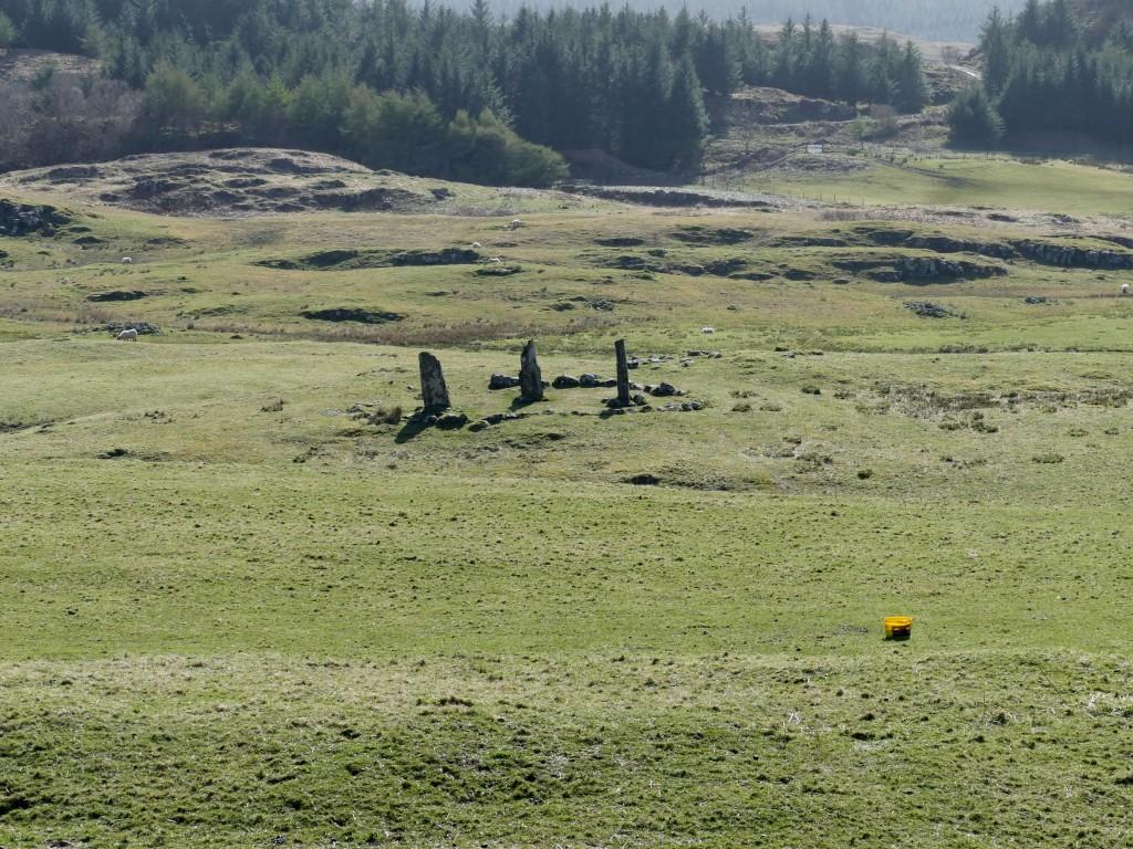 paysages autour du Glengorm Castle sur l'île de Mull (Ecosse)