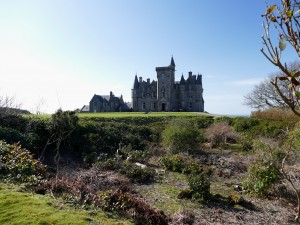 Glengorm Castle sur l'île de Mull (Ecosse)