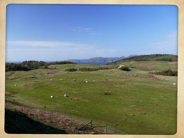 Autour du Glengorm Castle sur l'île de Mull