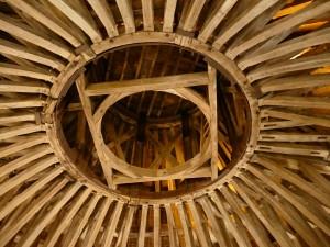 toit du château de Hautefort en Dordogne