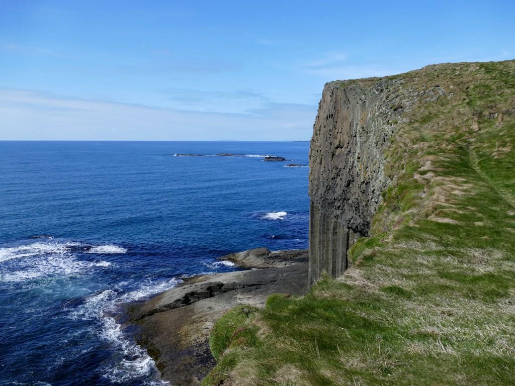 Découverte de l'île de Staffa (Ecosse)
