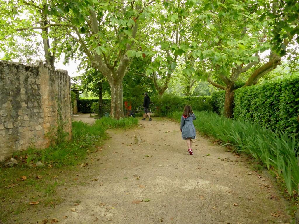 entrée du site archéologique de Montmaurin (Haute-Garonne)