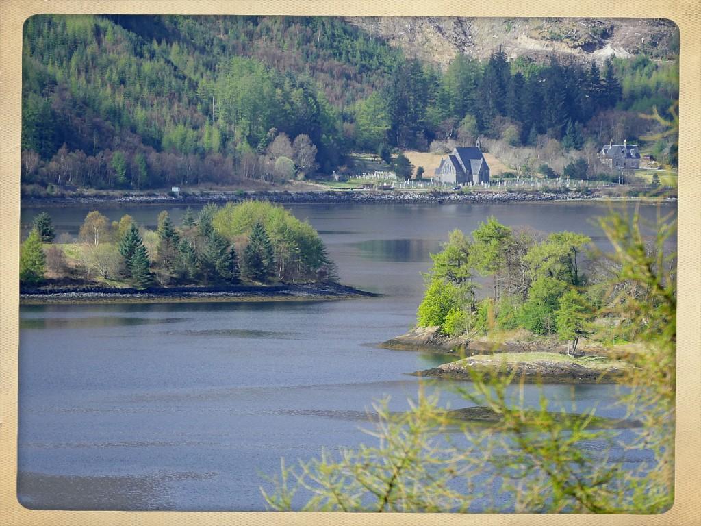 loch Leven dans le Glen Coe (Ecosse)