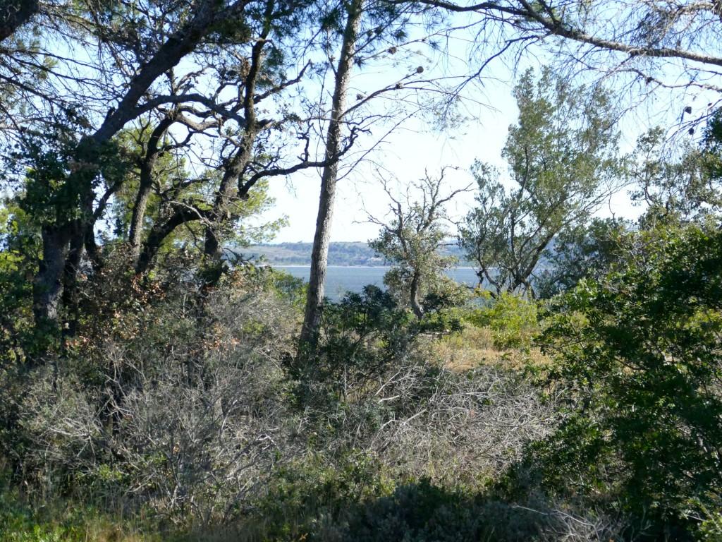la mer depuis la presqu'île de Sainte-Lucie dans l'Aude