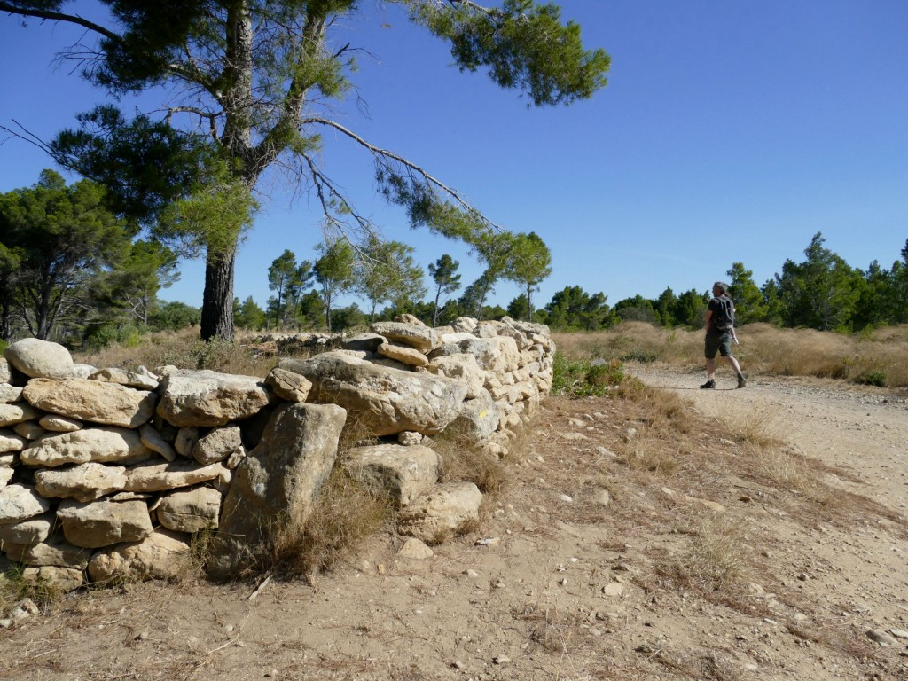 sentier sur la presqu'île de Sainte-Lucie dans l'Aude