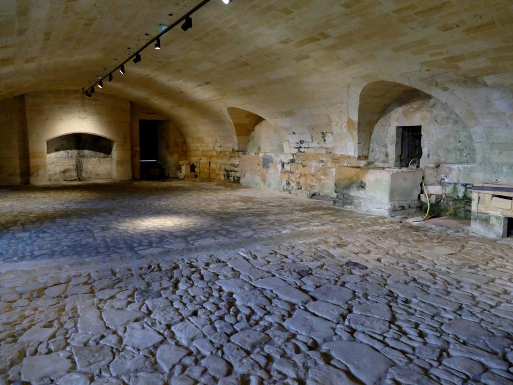 cuisine du château de Biron en Dordogne