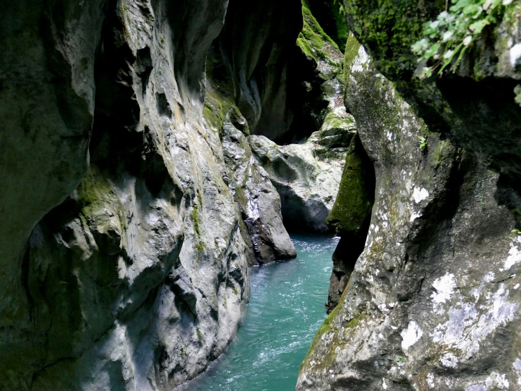 Gorges de la Tolminka (Slovénie)