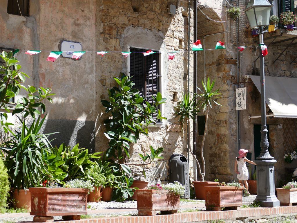 place dans Cervo en Liguria