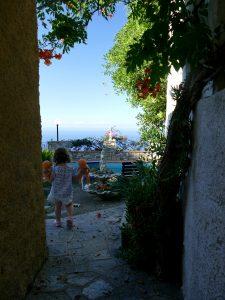 vue sur mer en Liguria