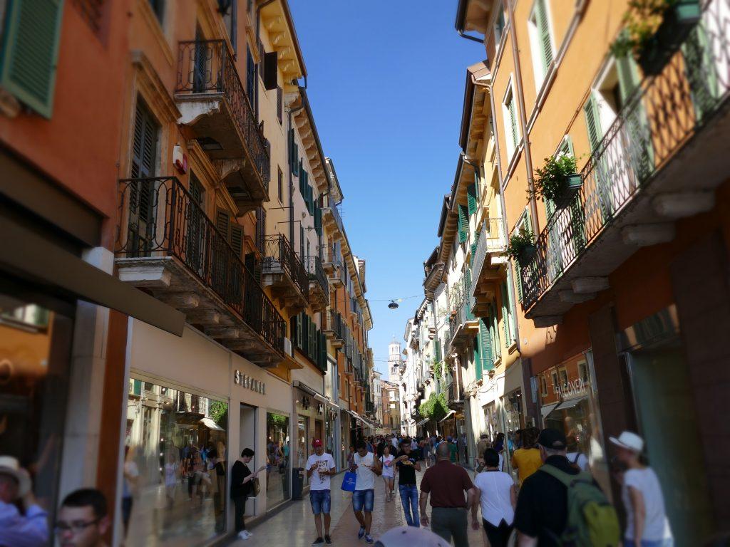 dans les rues de Vérone