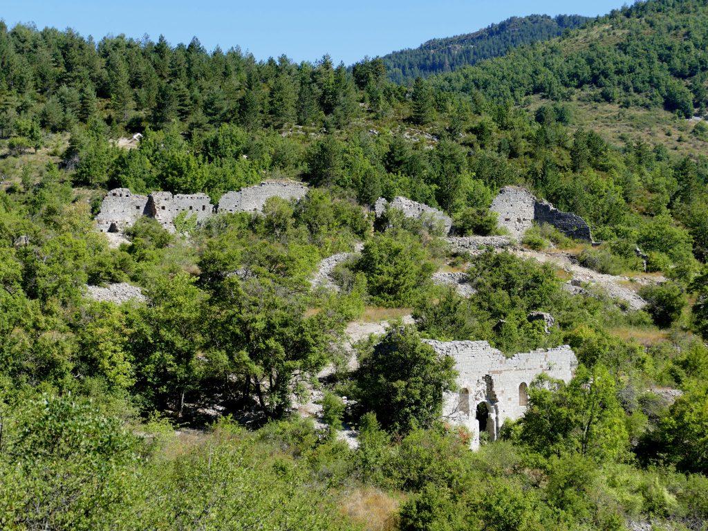 chemin du roc - Castellane