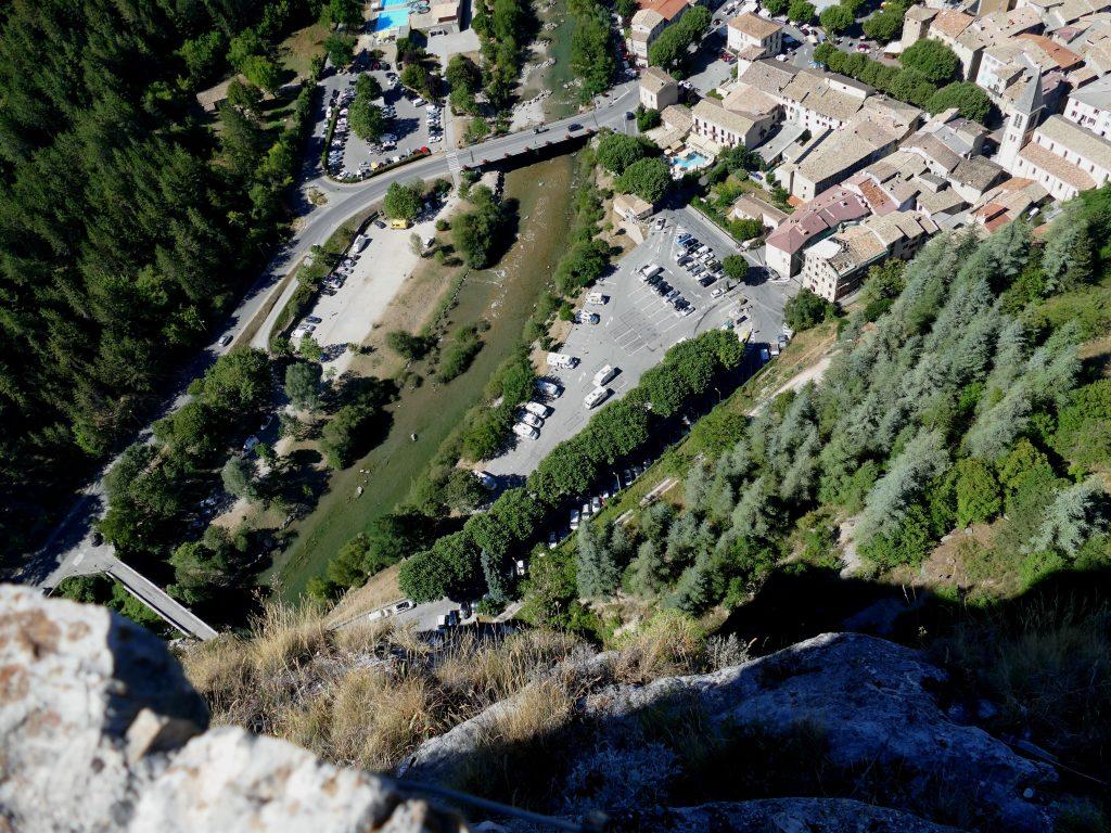 vue depuis le Roc de castellane