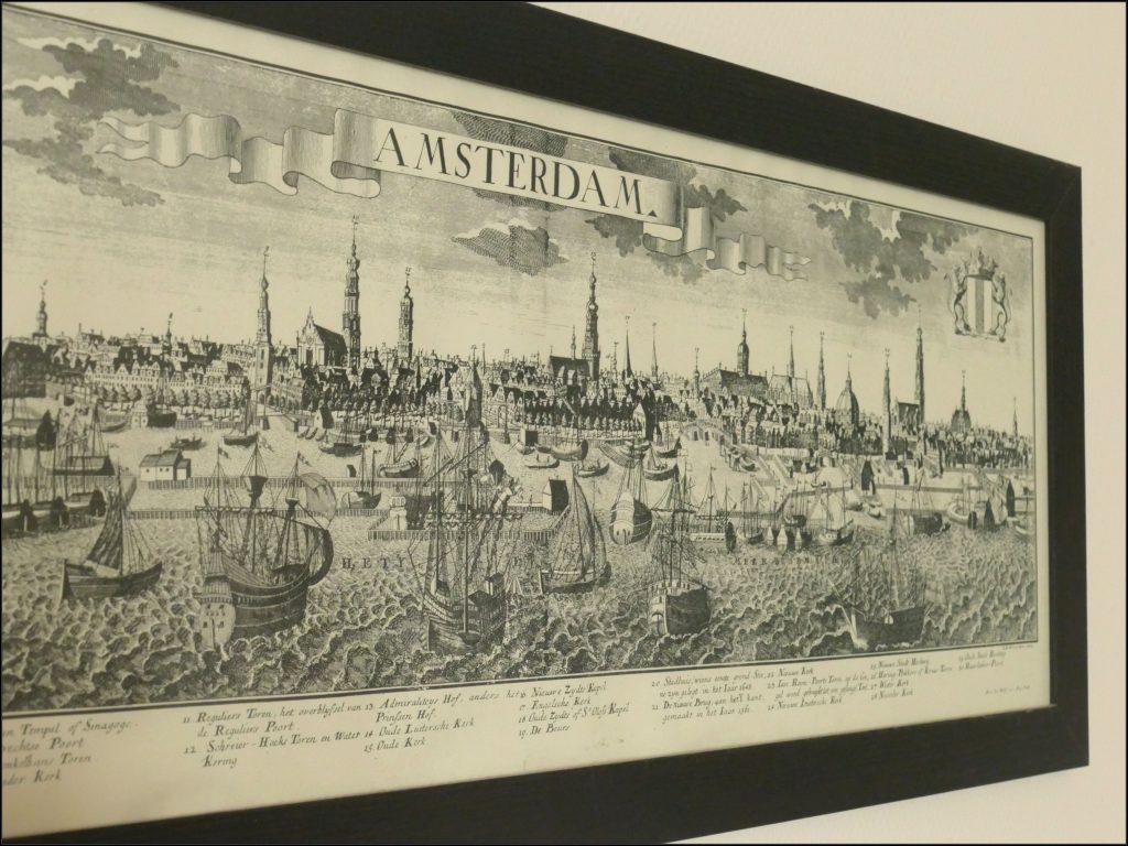 Gravure ramenée d'Amsterdam