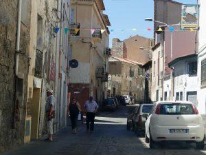 rue d'Orgosolo en Sardaigne