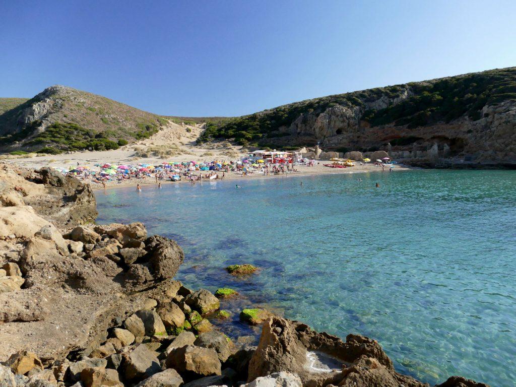 Cala Domestica en Sardaigne