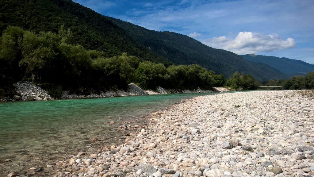 La rivière Soča