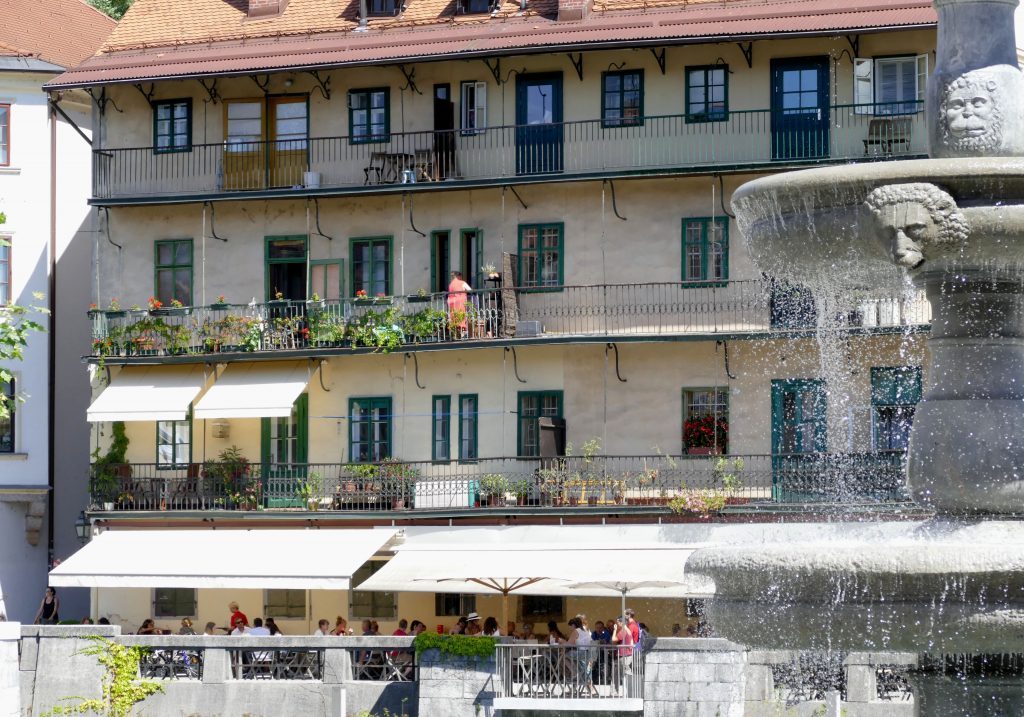 Scènes de rue Ljubljana