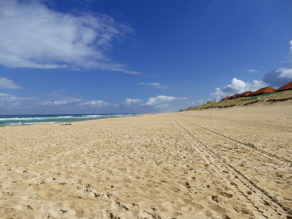 la plage de vieux boucau