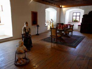 salle de réception du château de Predjama