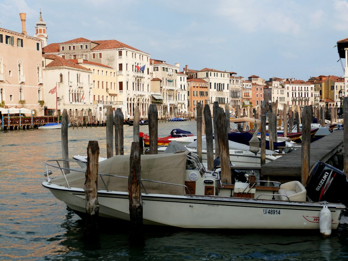 le Garnd Canal - Venise