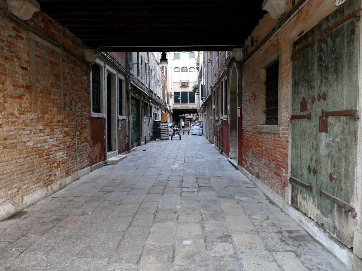 Livraison de marchandises dans Venise