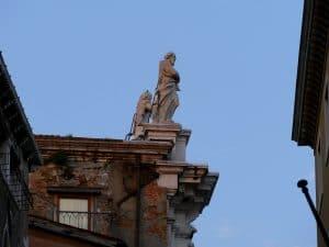 Statue d'homme Venise