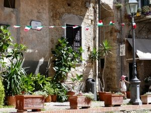 PLace centrale de Cervo - Liguria