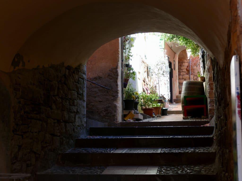 ruelle de Cervo - Liguria